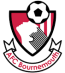 The crest is black red and white with the text AFC Bournemouth at the bottom.