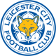 The Crest is a circle with blue, white and yellow colours. The fox in the centre of the crest is yellow and the text is blue. An image of a fox was first incorporated into the club crest in 1948, as Leicestershire is known for foxes and fox hunting.