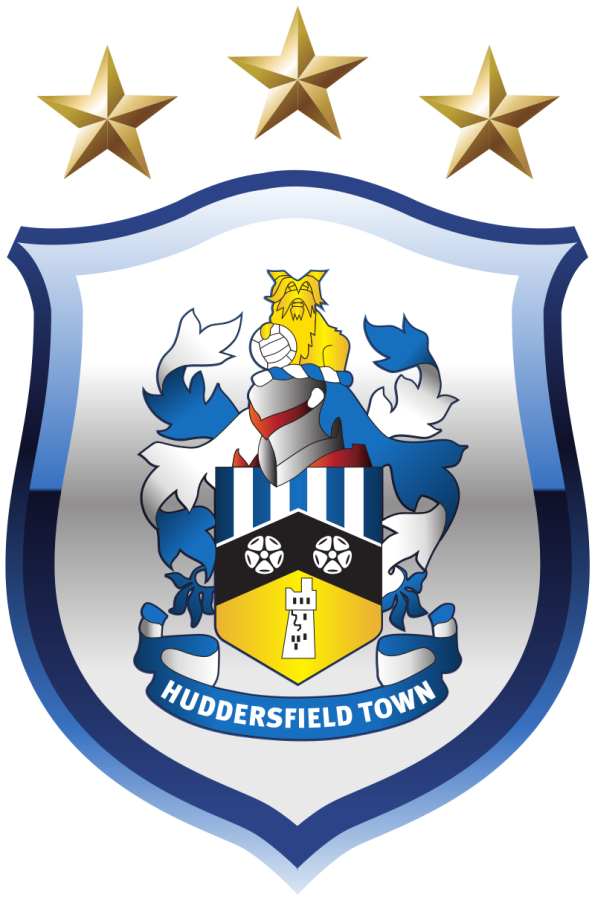 The logo for Huddersfield Town Football Club.